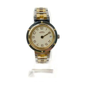 Hermes Watch Clipper operates normally 24mm Women'